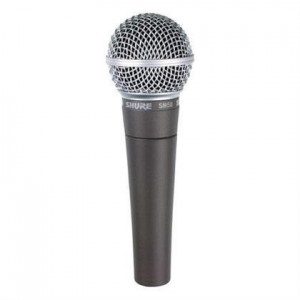 Shure SM58SE Cardioid Dynamic, On-Off Switch