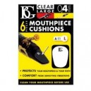 BG A11L Mouthpiece Cushions Clear Large